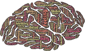 Brain Typography by GDJ, Openclipart