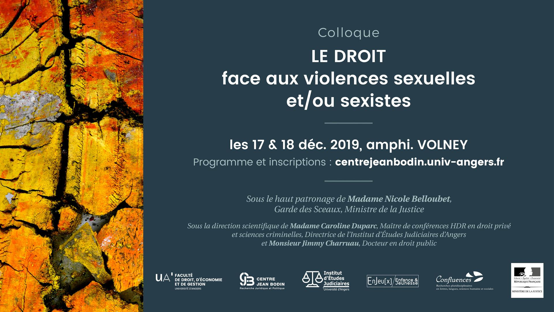 colloque droit VS